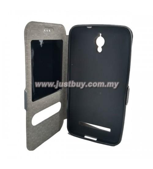 buy popular 8089f 128ed Buy Asus Zenfone C Window View Flip Cover With Slider - Grey Malaysia