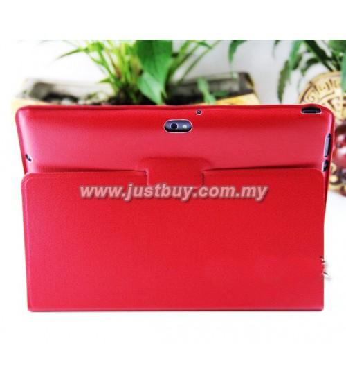 ASUS Transformer Prime TF201 Ultra Slim Microfiber Case - Red