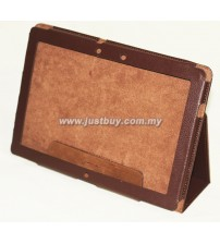 Asus Transformer Prime TF201 Leather Case - Brown