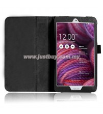 Asus Memo Pad 8 ME181c Leather Case - Black