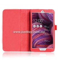 Asus Memo Pad 8 ME181c Leather Case - Red
