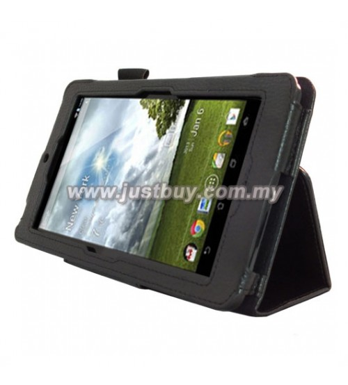 Asus Fonepad ME371 Leather Case - Black