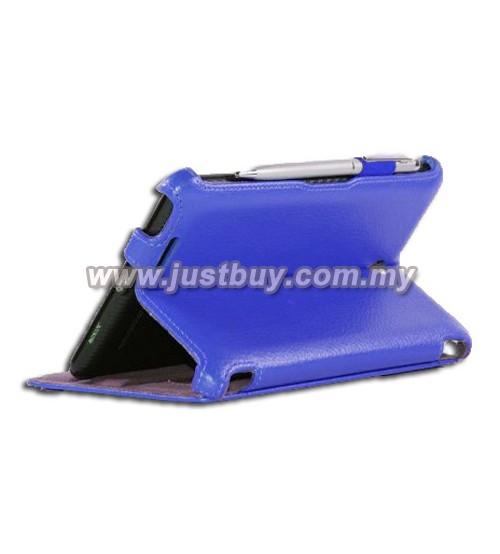 Asus Fonepad ME371 Premium Leather Case - Blue