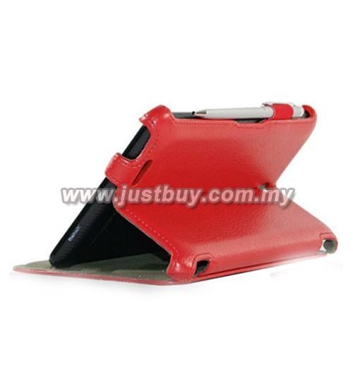 Asus Fonepad ME371 Premium Leather Case - Red