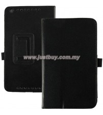 Asus Memo Pad 8 ME581CL Leather Case - Black