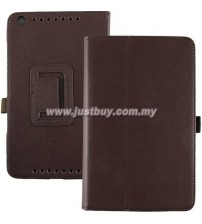 Asus Memo Pad 8 ME581CL Leather Case - Brown