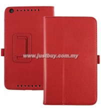 Asus Memo Pad 8 ME581CL Leather Case - Red