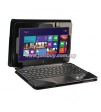 ASUS VivoTab RT TF600T Full Body Keyboard Cover Leather Case - Black