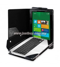 Asus VivoTab TF810c 11.6 Inch Full Body Keyboard Cover Leather Case