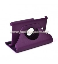 ASUS Fonepad 7 (Dual Sim) ME175 Rotating Leather Case - Purple