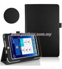 Asus Memo Pad 8 ME180a Leather Case - Black