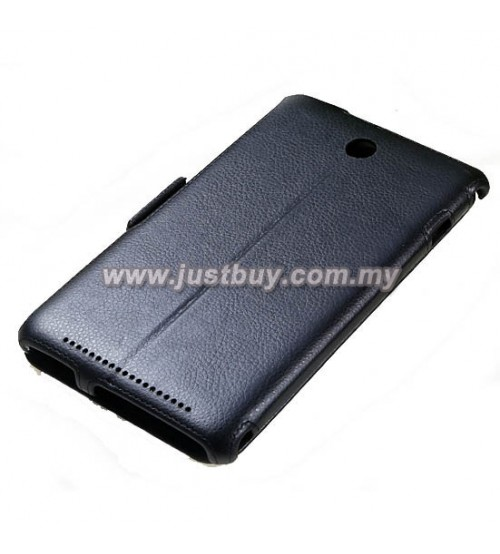 new arrival 5bfc3 f782f Buy Asus Memo Pad 8 ME180A Premium Leather Case - Black Malaysia