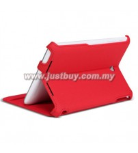 Asus Memo Pad 8 ME180A Premium Leather Case - Red