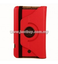 Asus Memo Pad 8 ME180a 360 Degree Rotation Case - Red
