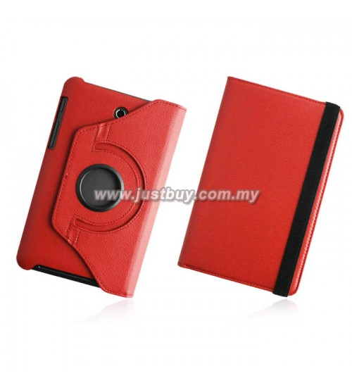 Asus Fonepad 7 ME372 Rotating Case - Red