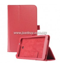 Asus MeMo Pad 7 ME70CX Leather Case - Red