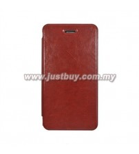 Asus Padfone Infinity Mobile Flip Leather Case - Brown