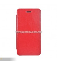Asus Padfone Infinity Mobile Flip Leather Case - Red