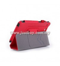 Asus Padfone Mini A11 Leather Case - Red