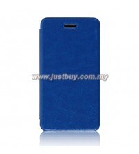 Asus Padfone Mini Mobile Flip Leather Case - Blue