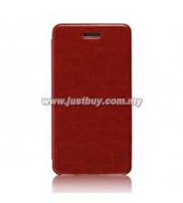 Asus Padfone Mini Mobile Flip Leather Case - Brown