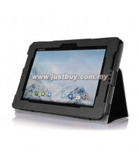 Asus Padfone S PU Leather Case - Black