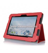 Asus Padfone S PU Leather Case - Red