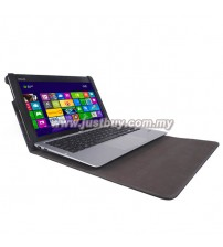 Asus Transformer Book T200TA Leather Keyboard Portfolio Stand Cover Case