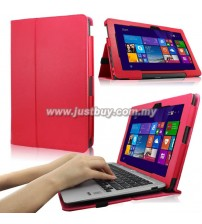 Asus Transformer Book T200TA PU Leather Case - Red