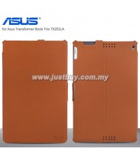 Asus Transformer Book Trio TX201LA Premium Leather Case - Brown