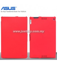 Asus Transformer Book Trio TX201LA Premium Leather Case - Red