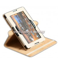Blackberry Playbook 360 Degree Rotation Case - Beige