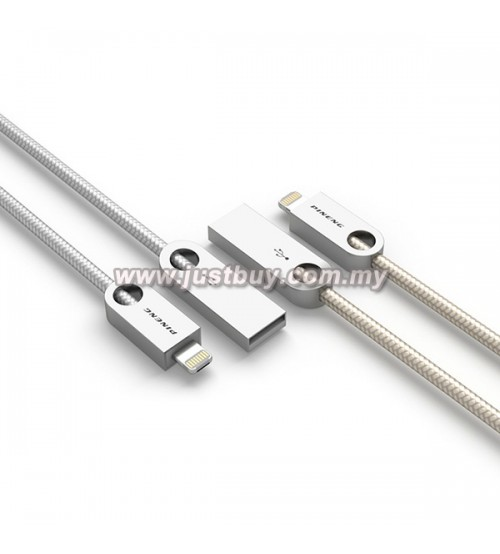 PINENG PN-310 Dual Side Micro USB + Lightning High Speed Data & Charging Cable