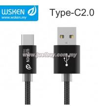 WSKEN Type C 2.0 USB Cable - Black