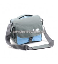 Canon / Nikon DSLR Camera Shoulder Bag - Blue