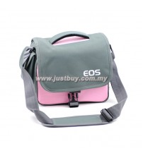 Canon / Nikon DSLR Camera Shoulder Bag - Pink