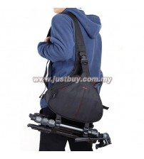 DSLR SLR Digital Sling Camera Case Shoulder Bag