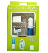 IPHONE/IPAD 3 In 1 Charger
