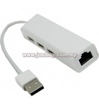 Macbook 3 Port Multi Function Lan Adapter