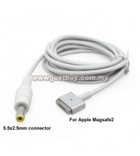 Macbook Magsafe 2 DC 5.5x2.5mm Power Bank Charging Cable