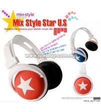 Mix Style Headphone - Red