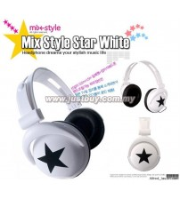 Mix Style Headphone - White