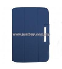 Google Nexus 10 Premium Book Case - Blue