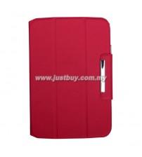 Google Nexus 10 Premium Book Case - Red