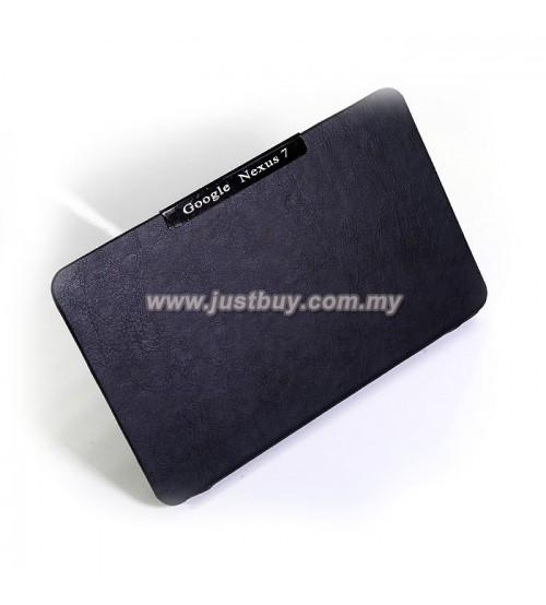 Google Nexus 7 Slim Book Cover Case - Black