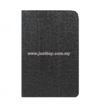 Google Nexus 7 Korea Cute Leather Case - Black