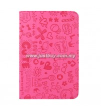 Google Nexus 7 Korea Cute Leather Case - Pink