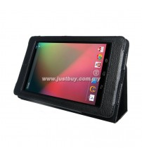 Google Nexus 7 Leather Case - Black