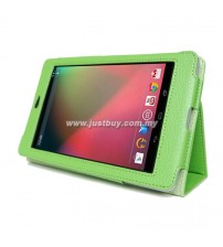 Google Nexus 7 Leather Case - Green