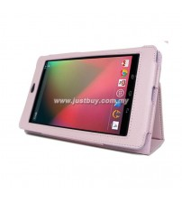 Google Nexus 7 Leather Case - Pink